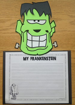 My Frankenstein Craftivity