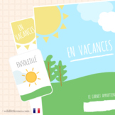 My French Travel Journal⎜En Vacances⎜Travel Planner ⎜Games