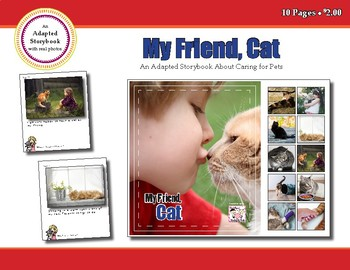 My Friend, Cat - Adapted Book