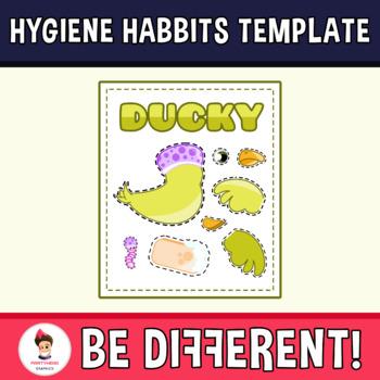 My Friend Ducky - Hygiene Habits Clipart