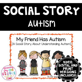 My Friend Has Autism (A Social Story)