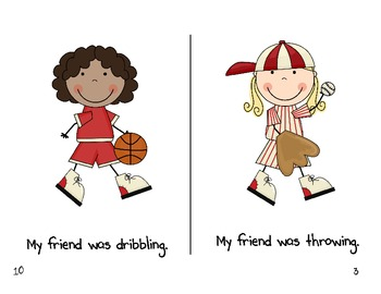 """""""My Friend"""" High Frequency Word Book and Writing Prompt"""