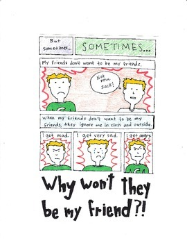 My Friends Are Ignoring Me - Social Story