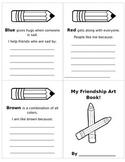My Friendship Art Book lesson