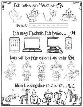 My Friendship Book (German)  Mein Freunde-Buch (Deutsch)