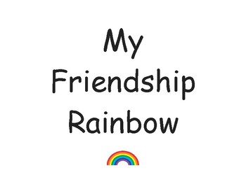 My Friendship Rainbow