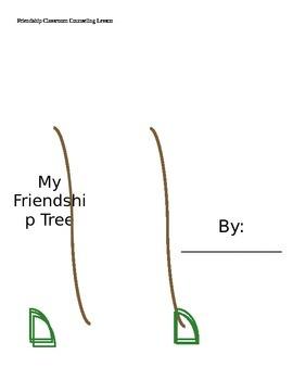 My Friendship Tree lesson