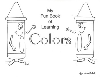My Fun Book of Learning Colors