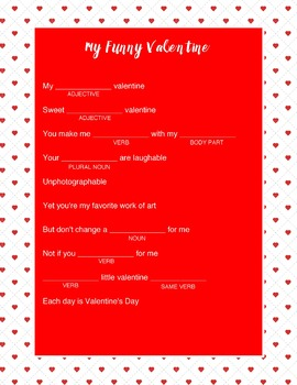 Valentines Madly Worksheets & Teaching Resources | TpT