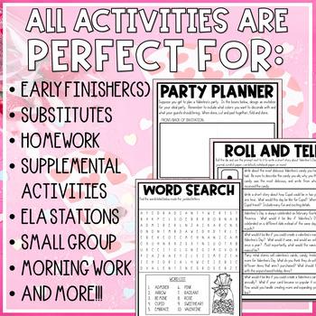 My Funny Valentine Mini-Activity Pack / Editable Bingo Cards