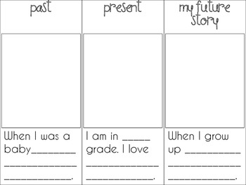 My Future Story Student Time Line