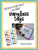 My Future's So Bright... Sunglass Tags