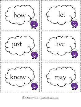 Dolch Sight Words - Grade One
