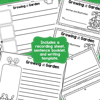 Growing a Garden Scrambled Sentences