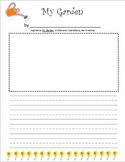My Garden by Kevin Henkes Printable Activity