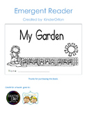 My Garden - emergent reader