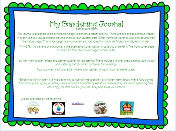 My Gardening Journal