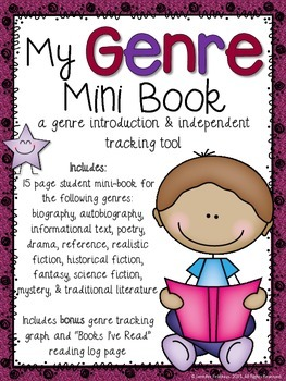 My Genre Mini Book: A Genre Introduction & Independent Tracking Tool