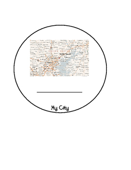 My Geography Map: Home, City, State, Country