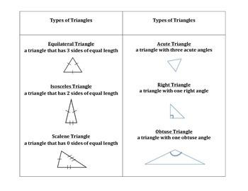 My Geometry Booklet