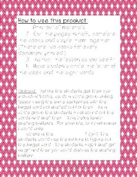 Letter Gg Book