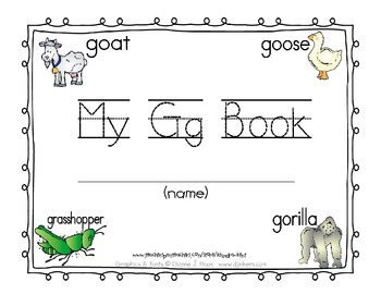 My Gg Book {decodable reader, sight word 'go}