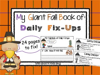 My Giant Book of Daily Fall Fix-Ups  (Editing practice)
