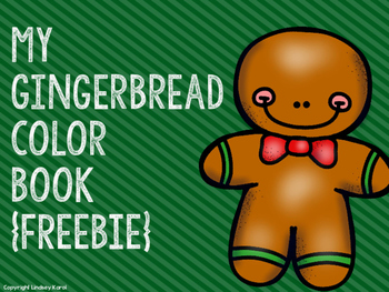 My Gingerbread Color Book {FREEBIE}