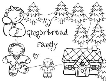 My Gingerbread Family Book