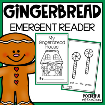 Gingerbread House Emergent Reader