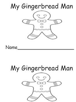 My Gingerbread Man-Emergent Reader