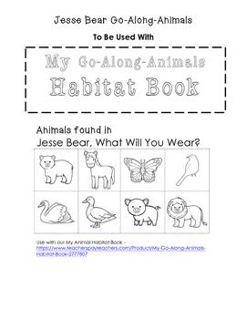 My Go-Along-Animals (Jesse Bear)