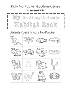 My Go-Along-Animals (Katy No-Pocket)