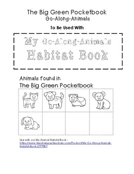My Go-Along-Animals (The Big Green Pocketbook)