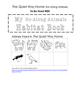 My Go-Along-Animals (The Quiet Way Home)