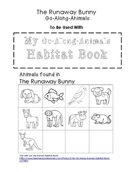 My Go-Along-Animals (The Runaway Bunny)