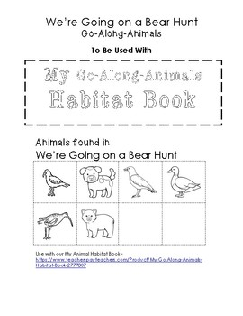 My Go-Along-Animals (We're Going on a Bear Hunt)