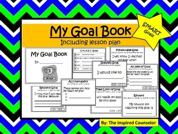 My Goal Book: SMART goal setting lesson and book