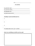 My Goal Worksheet
