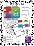 My Goal with Lesson Plan Dots Border
