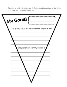 My Goals Banner!