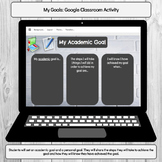 My Goals: Google Classroom Digital Activity