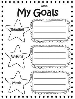 My Goals Worksheet