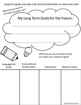 My Goals and My Future