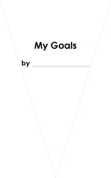 My Goals for This Year Pennant Craftivity