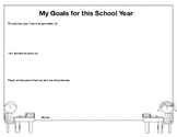 My Goals for this School Year