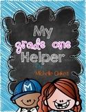 My Grade One Helper: Canadian Version