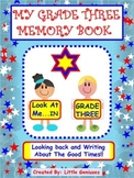 Grade Three Memory Book: Year End Review