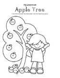 My Grammar Apple Tree - Color by Parts of Speech