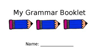 My Grammar Book